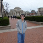 Thuyet (Tyler Dao) is shown here visiting Columbia University.  He attend Stanford University.